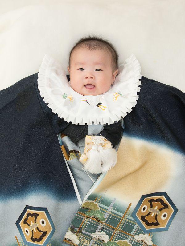 西宮市甲子園写真館フォトスタジオお宮参り赤ちゃん