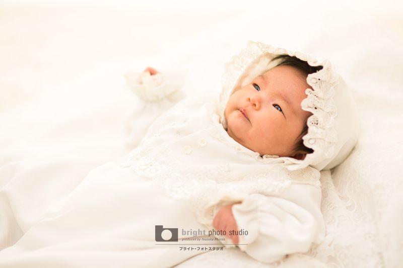 西宮市甲子園写真館フォトスタジオカジュアルフォトお宮参り赤ちゃんbaby